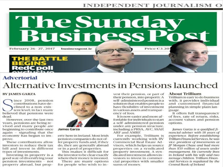 Alternative Investments in Pensions Launched